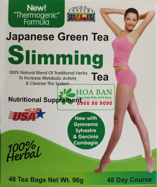 Trà Green Tea Slimming